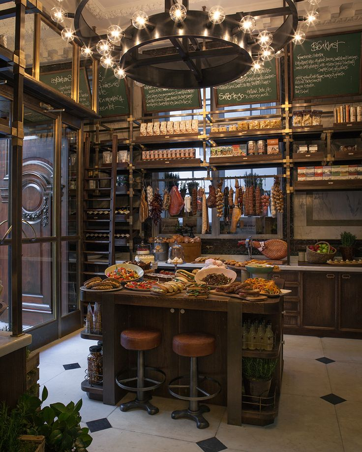 Holborn Delicatessen, next door to the Holborn Dining Rooms (both in the…