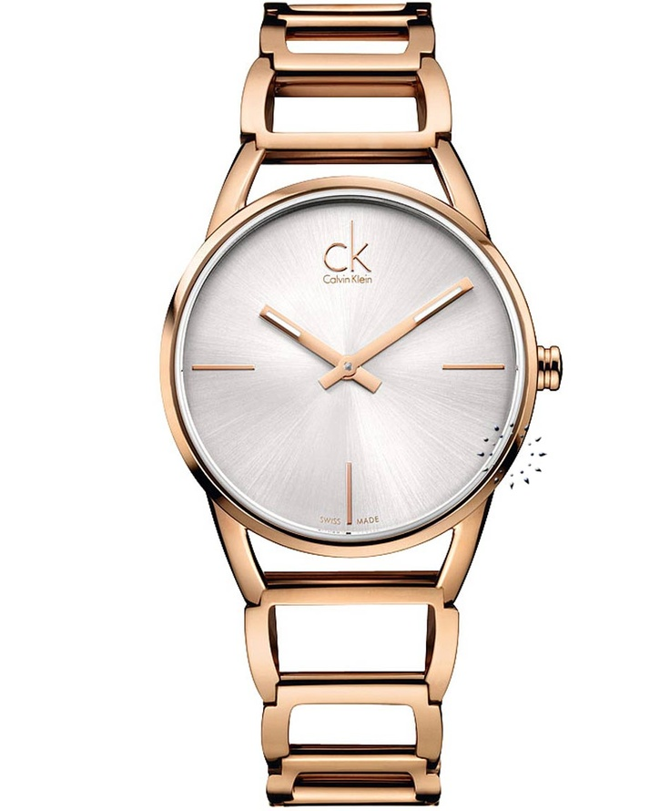CALVIN KLEIN Stately Rose Gold Stainless Steel Bracelet  Τιμή: 318€  http://www.oroloi.gr/product_info.php?products_id=31840