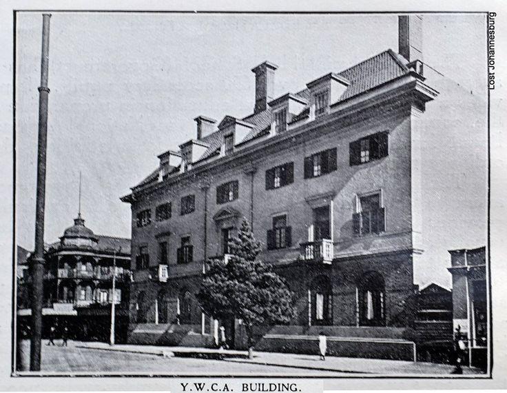 YWCA building - corner of Jeppe and Von Brandis Streets (1924).