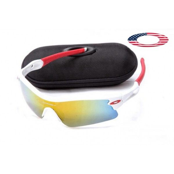Free oakley sunglasses radar path white / fire iridium