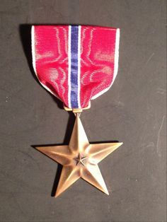 US Military Medal, The Bronze Star WW2