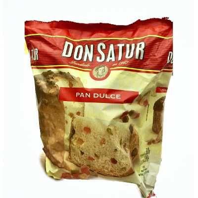 Pan Dulce Don Satur Con Frutas 500gr -barata La Golosineria $ 59.99