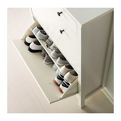 These in the mud room instead of the bench?  HEMNES Shoe cabinet with 2 compartments - white - IKEA