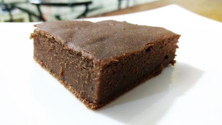 Brownie Vegano de Banana