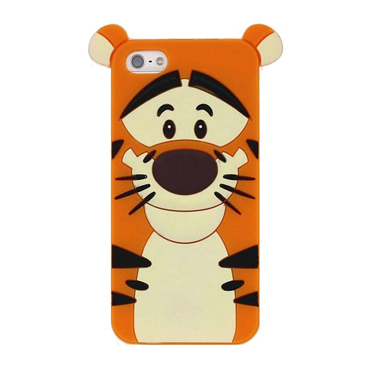 2016 Fashion fairy wizard cartoon monsters animals cute teedy bear/cat/rabbit/duck/dog/tiger/mouse soft silicone case For Iphone