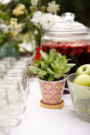 Jars and drinks