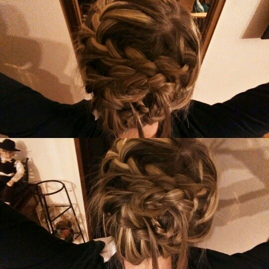Crazy hairstyle