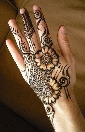 Here are some of the best Back Hand Mehndi designs