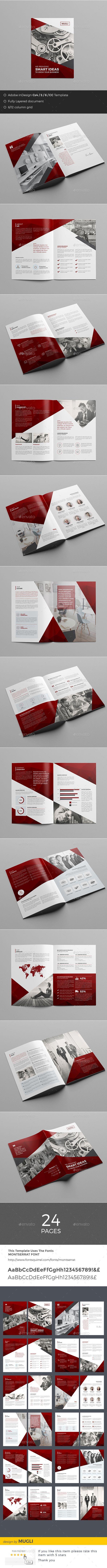 Corporate Brochure Design - Corporate Brochure Template InDesign INDD, Vector AI. Download here: http://graphicriver.net/item/corporate-brochure/16488096?s_rank=123&ref=yinkira