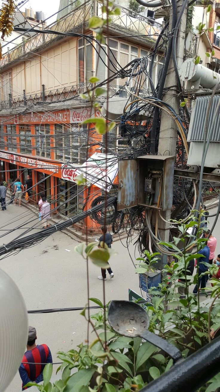 Electrical safety at its best in Kathmandu, Nepal
