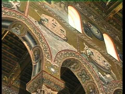 Duomo di Monreale, palermo. Costruito per ordine di Guglielmo II nel 1174.