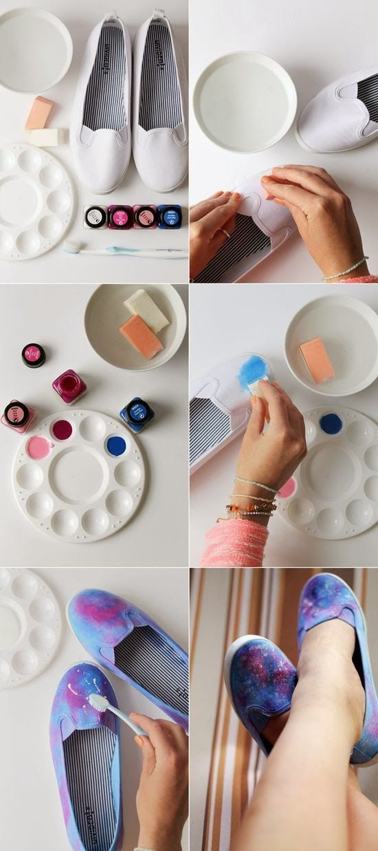 Diy | Paint Your Own Shoes
