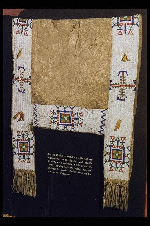 Northern Cheyenne Saddle Blanket