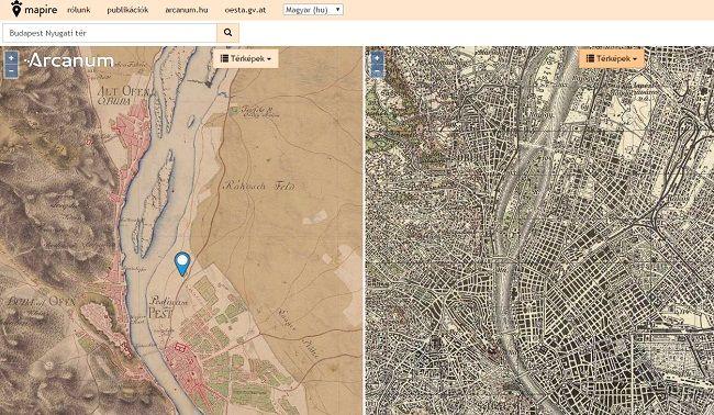 Ezen a térképen megnézheted mi állt a házad helyén 250 éve!