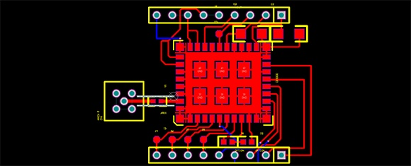 Breakout Board for the CC3000 WiFi chip
