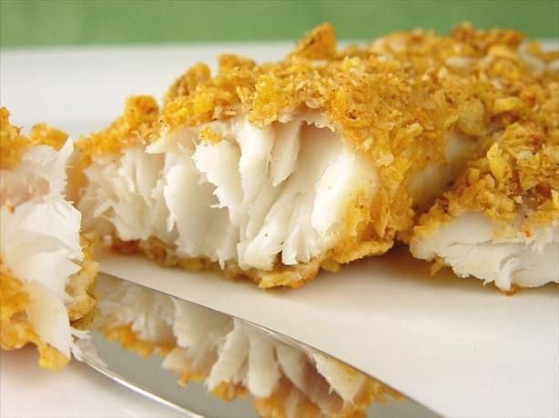 Cornflake oven baked fish recipe