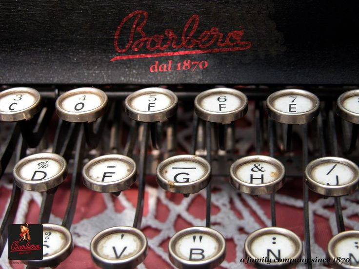 That's just an example of #coffee #typing from @Barbera Bosma Caffe