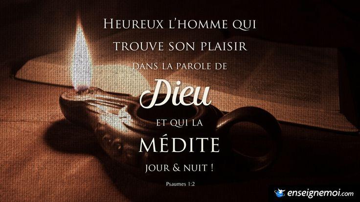 Psaumes 1:2                                                                                                                                                                                 Plus