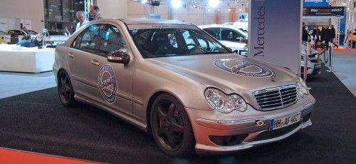 2002 Mercedes-Benz C32 AMG von den AMG-Freunden Deutschland e.V.