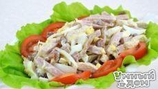 Праздничные салаты с ветчиной: 6 рецептов Ветчина – любимый мясной продукт многих любителей вкусно покушать. Но хороша она не только для бутербродов, но и для праздничных салатов, которые получаются с ней очень и очень вкусными. С ветчиной совсем нет хлопот: купил ее, нарезал и уже можно класть в салат. Поэтому для приготовления салатов ее используют чаще, чем отварное мясо и другие мясные продукты. В этой статье мы собрали рецепты вкусных праздничных салатов с ветчиной с красивым…
