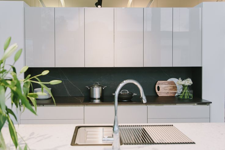 This SieMatic Classic features a Franke single bowl sink and KWC Eve sink mixer. Come and see it for yourself Southern Innovations Fyshwick.