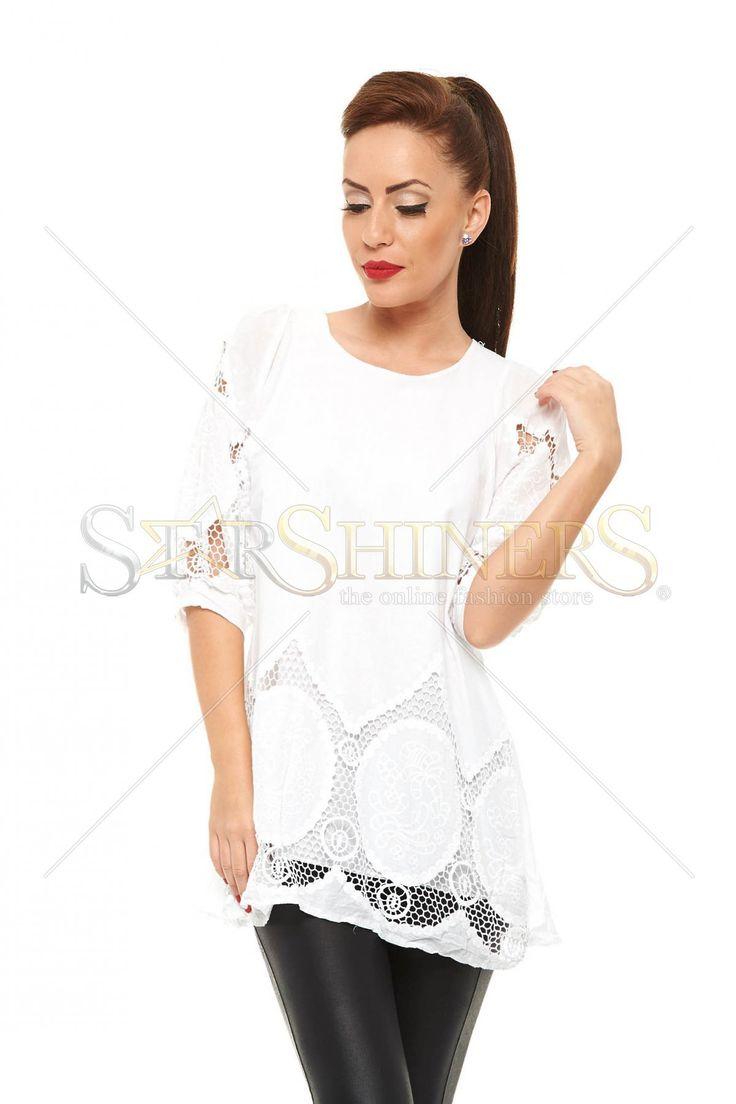 Delicate Allure White Dress