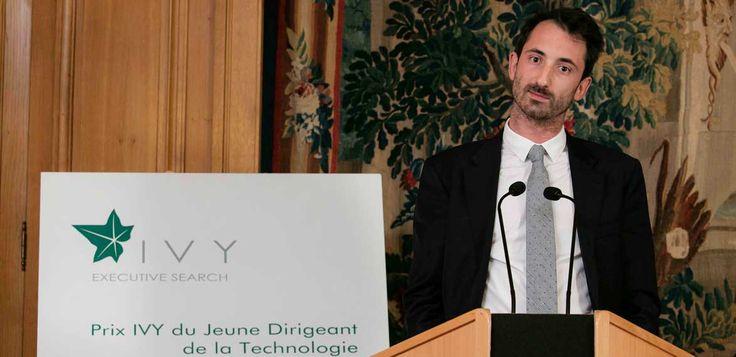 Grâce à un discours étonnant, Quentin Vacher a été élu jeune dirigeant de la technologie 2016. Il est le cofondateur de Frichti, un service de livraison à domicile de plats sains à bas prix.