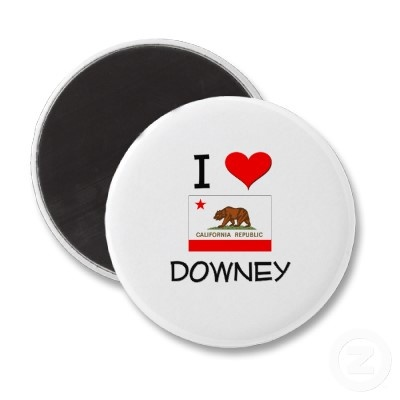 Image detail for -Love DOWNEY California Refrigerator Magnets from Zazzle.com