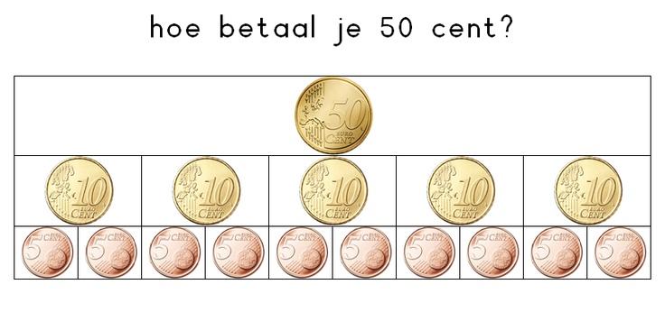 50 cent betalen