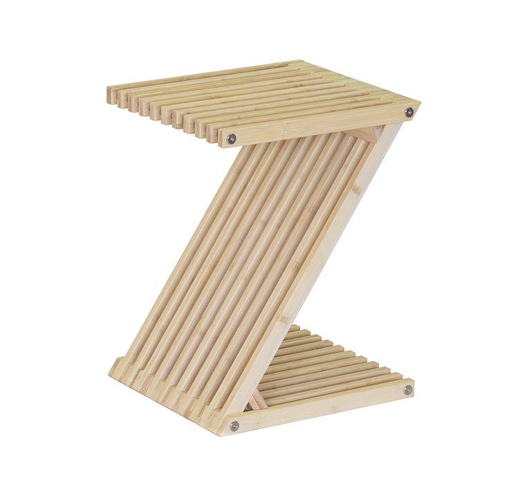 Der Z Hocker   Möbel Und Objekt. Raffiniert, Klappbar Und Platzsparend.  Design