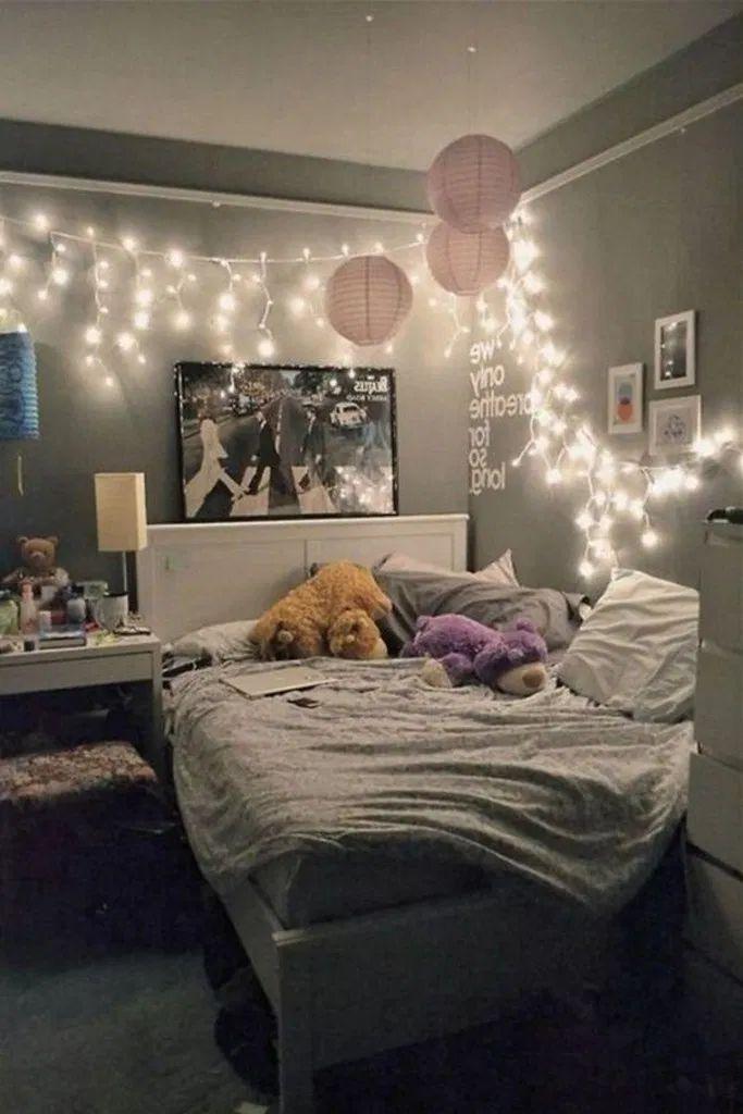 15 Teen Bedroom Ideas For Girls #girlroom #girlbed…