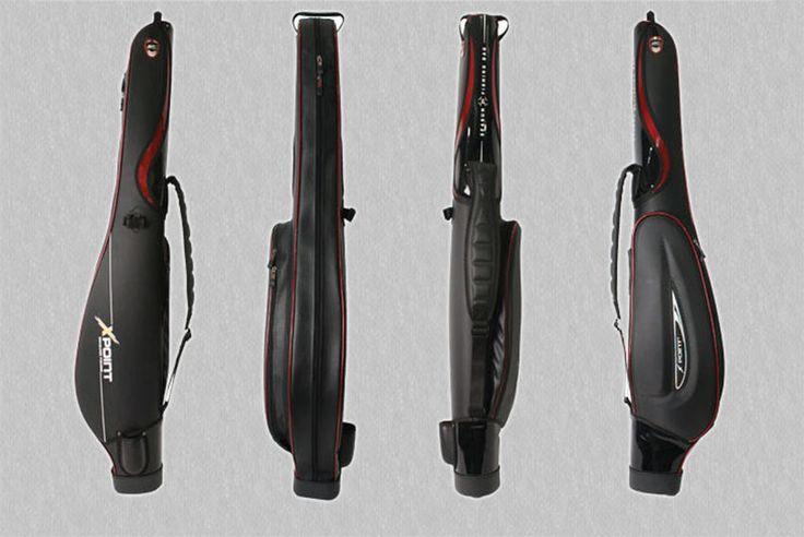 Fishing Rod Case Black ST-87 Salt & Freshwater Pole Tackle Sea Fish Shoulder Bag