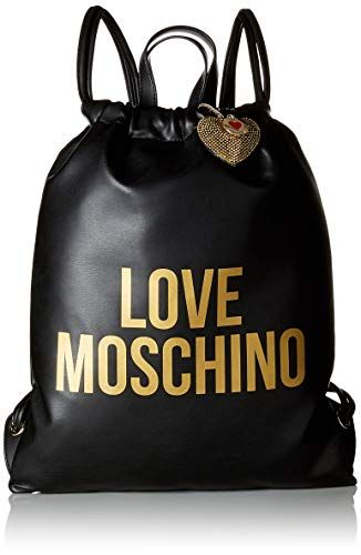 407f705ecaf Love Moschino Borsa Pu, Women's Backpack Handbag, Black #Amazon #Bags  #Womens