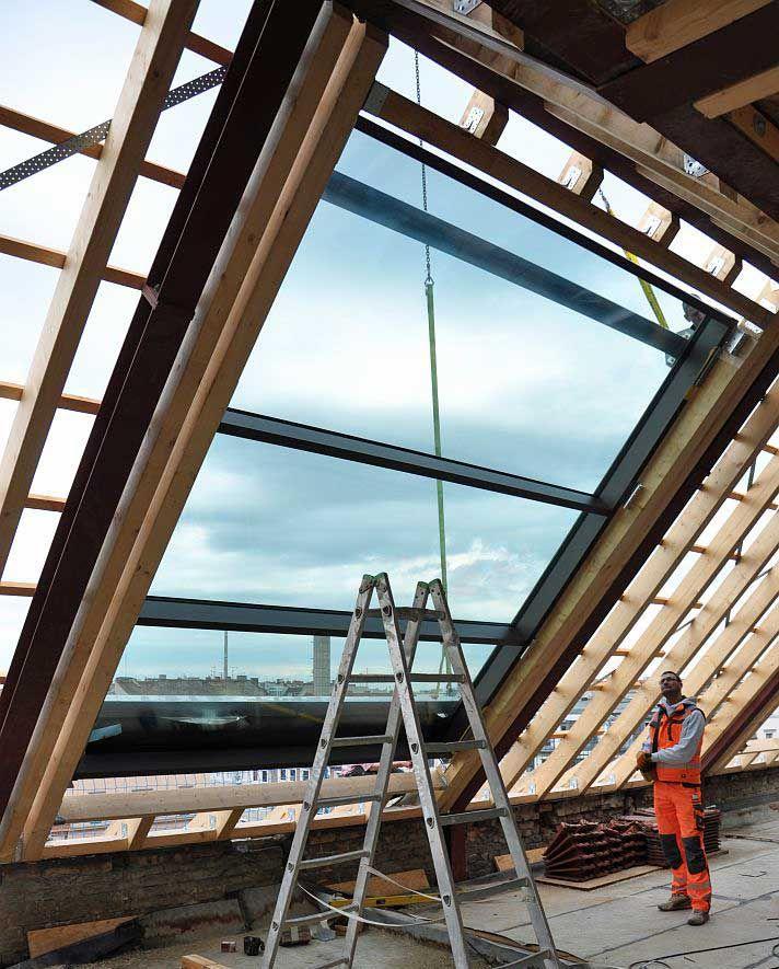Panoramafenster dach  8 besten Dachboden Bilder auf Pinterest | Dachausbau, Dachfenster ...