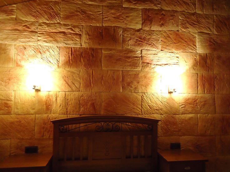 Una buena idea para decorar y transformar las distintas - Decorar paredes con piedra ...