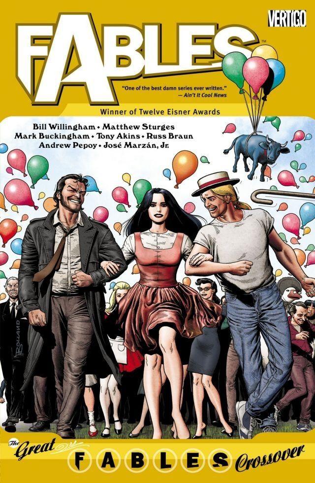 FABLES: THE GREAT FABLES CROSSOVER VOL. 13 | Vertigo Comics