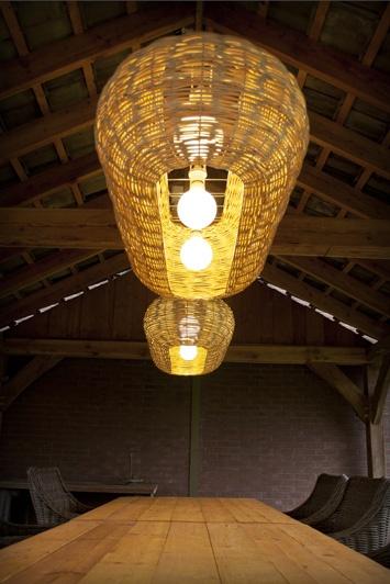Mozes - light - eco - design - dutch - willow-twigs - lamp - inside and outdoors - by Lartido.com
