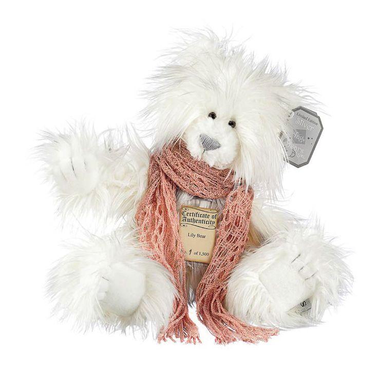 Suki Teddy Bear Lily - Silver Tag Bear - Collection 4