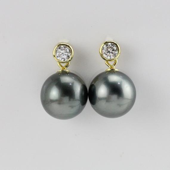 17+ Floating pearl sterling silver statement earrings info