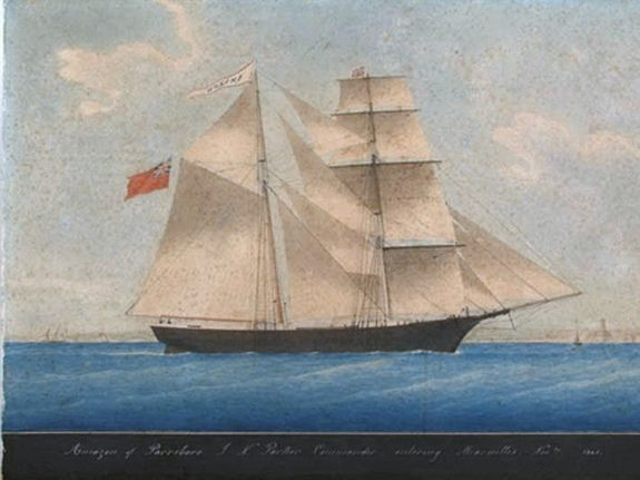 On Dec. 4, 1872, a boarding party on the British brigantine ship named the Dei Gratia found a ship named the Mary Celeste adrift at sea in the Atlantic Ocean, not far from the Azores. The ship was completely deserted, the boarding party found. Of the 10 people known to have sailed aboard the Mary Celeste, none were ever found. A lifeboat was missing, but the ship's log gave no indication as to why the Mary Celeste was abandoned.