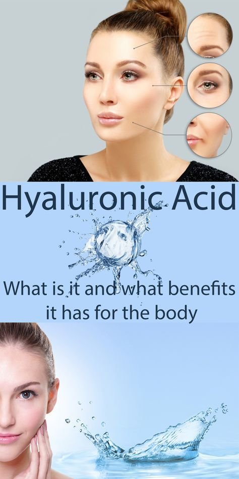 Hyaluronic Acid: What is it and what benefits it has for the