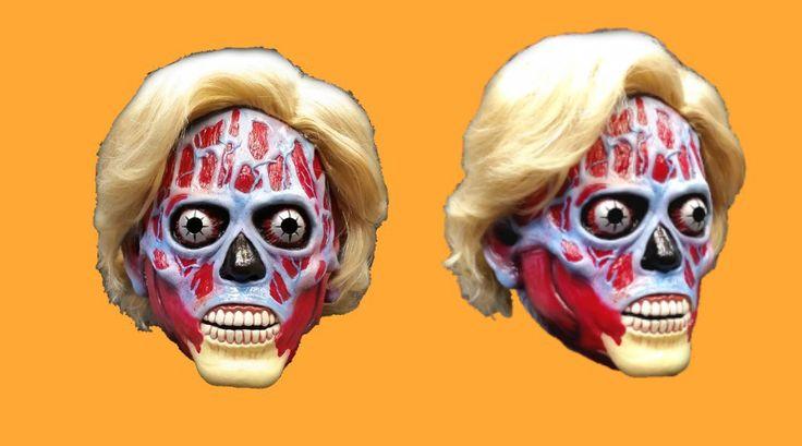 'They Live' Alien 'Hillary Clinton' Edition Halloween Mask