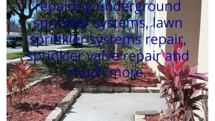 lawn sprinkler systems repair tampa bay
