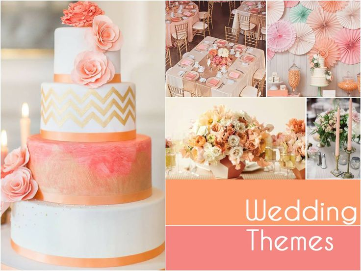 Soft, creamy tones highlighted by gilded gold adds a feminine yet romantic touch to your wedding decor. Dreamy pastel hues can take your wedding theme from sophisticated and chic to vintage and classy. #WeddingThemes #SummerWeddingsWithBenzer