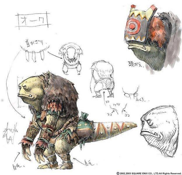 Week 11 - Final Fantasy XI - Concept Art Mon -