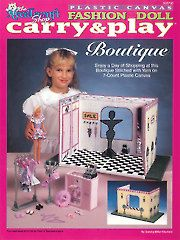 Fashion Doll Carry & Play Boutique - Electronic Download