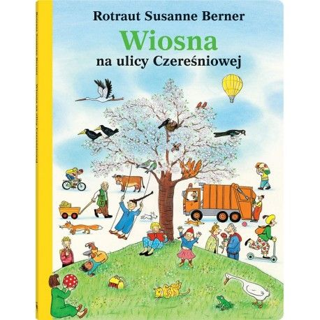 Wiosna na ulicy Czereśniowej, u nas już też:)    Książka obrazkowa dla dzieci od lat 3 pełna zabawnych, barwnych szczegółów i postaci na dworcu, na rynku, w sklepie i w parku - wszędzie pełno ludzi.     Czy zdołasz wszystkich odnaleźć?     Sprawdź, co przydarzyło się każdemu z nich w wiosenny dzień:)    http://www.niczchin.pl/ksiazeczki-dla-przedszkolakow/3682-ksiazka-wiosna-na-ulicy-czeresniowej-wydawnictwo-dwie-siostry.html    #wiosnanaulicyczereśniowej #niczchin #kraków