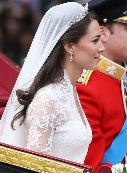 Royal Wedding: 4 Ways In Which Kate Middleton's Wedding Hair and Makeup Were Fairytale Perfect: Save the Date: Weddings: glamour.com