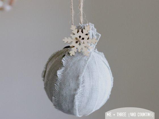 Natale eco-chic: 10 idee per realizzare le palle decorative in casa | blog.casase.it | se ciò che cerchi é sentirti a casa.