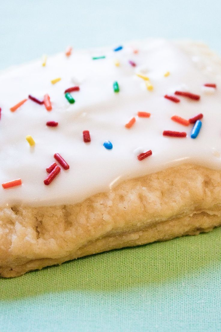 Easy Homemade Pop Tarts